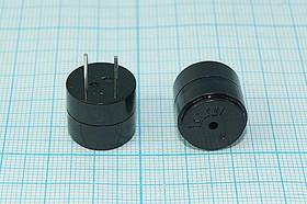 Излучатель звука пьезоэлектрический со встроенным генератором (1.5~12)В, 16x14мм, 85дБ/12В, згп 16x14\ 3~18\\4,0\2P7,6\ VSI1614P\IP65 VOISE