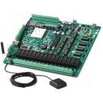 Фото 2/4 MIKROE-551, AVRPLC16 V6 PLC System, Лабораторный стенд для разработки систем автоматики на базе ATmega32