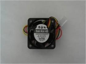 Вентилятор Sanyo Denki San Ace 40 109P0424H6D23 (Fanuc A90L-0001-0551) 40x20мм 24V 1.68W 0.07A 40x20