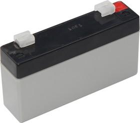 30-6012 (GP 6-1.2-S), Аккумулятор свинцовый 6В 1,2 А/ч, 97*24*58мм