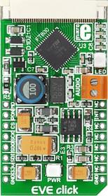 Фото 1/3 MIKROE-1430, EVE Click, Контроллер для дисплеев форм-фактора mikroBUS
