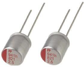 ECAP (К50-35), 560 мкФ, 6.3 В, RS80J561MDNASQJT, Конденсатор электролитический алюминиевый