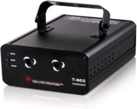 Фото 1/4 T-602, Лазерный проектор 20вт, 2 цвета
