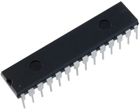 Фото 1/4 PIC16F873-20I/SP, Микроконтроллер 8-Бит, PIC, 20МГц, 7КБ (4Кx14) Flash, 22 I/O [DIP-28]