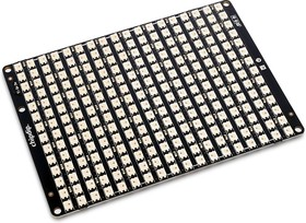 Фото 1/2 D 18x14, RGB LED display for LED projects, 252 RGB SK6812-MINI Neopixel