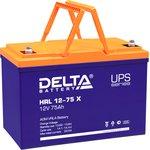 HRL 12-75 X Delta Аккумуляторная батарея