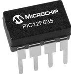 Фото 3/4 PIC12F635-I/P, 8 Bit MCU, Flash, PIC12 Family PIC12F6xx Series Microcontrollers, 20 МГц, 1.75 КБ, 64 Байт