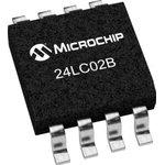 Фото 5/6 24LC02B-I/SN, Последовательная энергонезависимая память [SO-8]