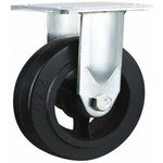 Большегрузное колесо обрезиненное C-4102-DYS не поворотное, без тормоза ...