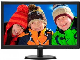 "Монитор ЖК PHILIPS 223V5LSB2 (10/62) 21.5"", черный"