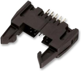 61201022821, Разъем типа провод-плата, 2.54 мм, 10 контакт(-ов), Штыревой Разъем, WR-BHD Series, Пайка
