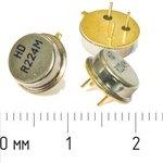 Фото 2/3 ПАВ резонаторы 224МГц в корпусе ТО39, SAW 224000 \TO39\\335\\HDR224MTO\3P (HDR224M)