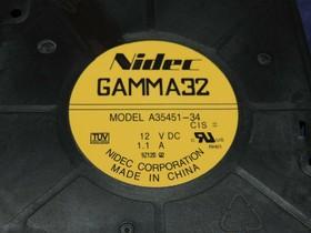Вентилятор Nidec Gamma32 A35451-34 120x32мм 12V 1.1A OEM
