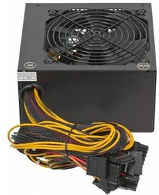 Блок питания HIPRO (HIPO DIGI) HPA-600W, 600Вт, 120мм, черный, retail
