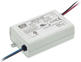 Фото 1/4 APC-25-700, AC/DC LED, блок питания для светодиодного освещения