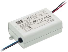 APV-25-15, AC/DC LED, блок питания для светодиодного освещения