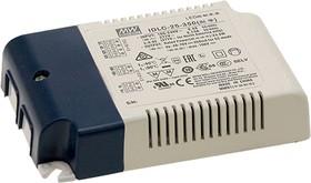 IDLC-25-350, AC/DC LED, блок питания для светодиодного освещения