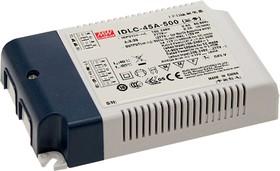 IDLC-45A-700, AC/DC LED, блок питания для светодиодного освещения