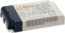 IDLC-65A-1400, AC/DC LED, блок питания для светодиодного освещения