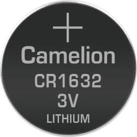 Фото 1/3 CR1632, Элемент питания литиевый (1шт) 3В