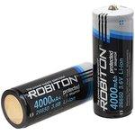 Li26650/4000, Аккумулятор Li-ion, 4000mAh, 3.7V, с защитой (26.5х72.5мм)