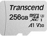 Фото 1/2 TS256GUSD300S-A, Флеш-накопитель Transcend Карта памяти Transcend 256GB UHS-I U3A1 microSD with Adapter