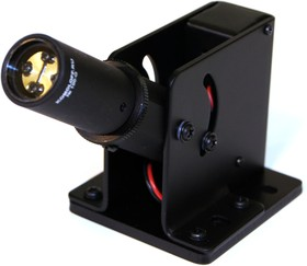 Лазерный модуль ML-100G, 124х54х59мм, линия, 2,5мВт, зеленый, 532нм