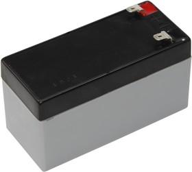 Фото 1/2 GP12-1.2-S(30-2012), Аккумулятор свинцовый 12В 1,2 А/ч, 97*43*58мм
