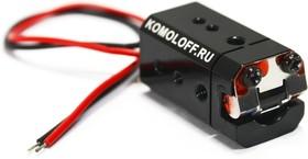 Лазерный модуль №37, 14х14х26мм, линия, красный,