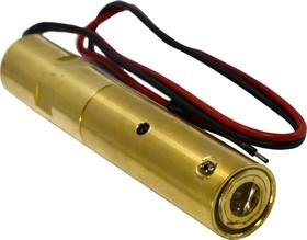 Лазерный модуль №47, D13х66, крест, зеленый, 2,5мВт