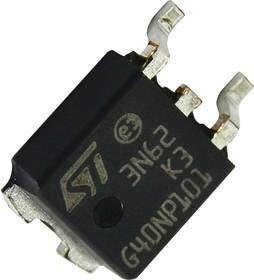 STD3N62K3, Mosfet SuperMESH3, N-канал, 620 В, 2.2 Ом, 2.7 А, DPAK