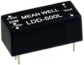 LDD-350L, DC/DC LED Driver, 10Вт, вх 9-36В, вых 2-32В/350мА, преобразователь для светодиодного освещения