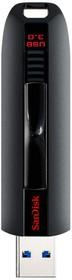 Флешка USB SANDISK Extreme 32Гб, USB3.0, черный [sdcz80-032g-g46]
