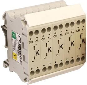 DRTB-J-2-10PK, TERMINAL BLOCK, J THERMOCOUPLE, 2P, 10PK
