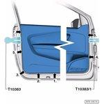 Фото 3/3 Набор клинообразных съемников для обивки салона VW Car-Tool CT-A1631