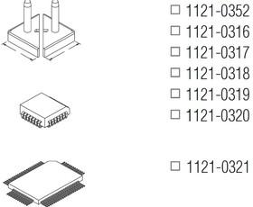 1121-0316, Наконечник для TT-65, демонтаж PLCC-20, 6.9х6.9мм