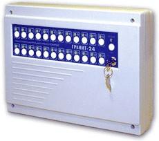 Гранит-24 прибор приемно-контрольный охранно-пожарный на 24 шлейфа
