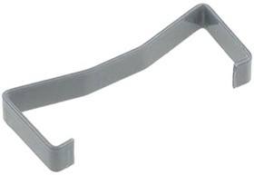 Фото 1/2 3505-8110, Connector Accessories Retainer Clip Straight Stainless Steel Gray