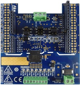 X-NUCLEO-OUT02A1, Evaluation Board, ISO8200AQ Solid State Relay, 8-Channel, Arduino Shield, For STM32 Nucleo