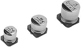 Фото 1/2 UUA1H101MNL1GS, Cap Aluminum Lytic 100uF 50V 20% (10 X 10mm) SMD 310mA 5000h 105°C Automotive T/R