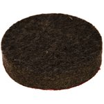 насадка-круг войлочный грубошерстный с липучкой D-125х20мм 44058 14284