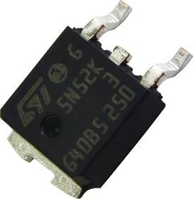 STD5N52K3, Транзистор, SuperMESH3, N-канал, 525 В, 1.2 Ом, 4.4 А [D-PAK]
