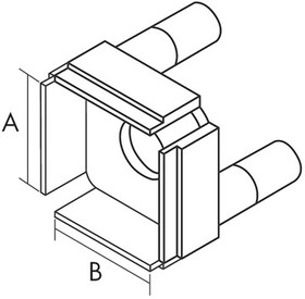 1124-2008, Картридж-наконечник для TP-100, QFP FR3.2, 14х20х2.7мм