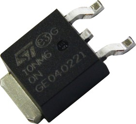Фото 1/3 STD10NM60N, Транзистор, MDmesh II, N-канал, 600 В, 0.53 Ом, 10 А [D-PAK]