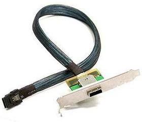 Кабель SuperMicro CBL-0351L Full Profile Bracket 85CM 1-port Ext Ipass - Int Ipass