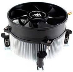 Устройство охлаждения(кулер) Glacialtech IceHut 1150 CU Light Soc-1150/1155/1156/ 3-pin 25dB Al 440g