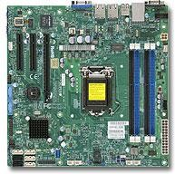 Серверная материнская плата SUPERMICRO MBD-X10SLM-F-B, bulk