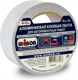 Фото 1/2 50124, Лента клейкая алюминиевая для авторемонтных работ 50мм х 25м