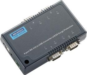 USB-4604B-AE, Конвертер 4 порта RS-232 в USB