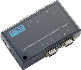 USB-4604BM-AE, Конвертер 4 порта RS-232/422/485 в USB